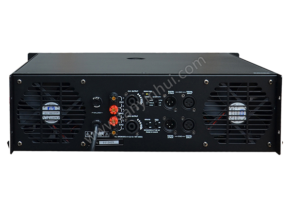 Power Amplifier 6000W Active Amplifier